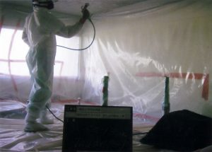Image Asbestos Sprayed Coating