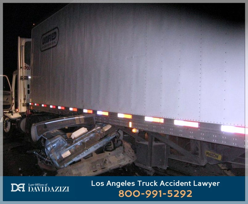 truck accident los angeles