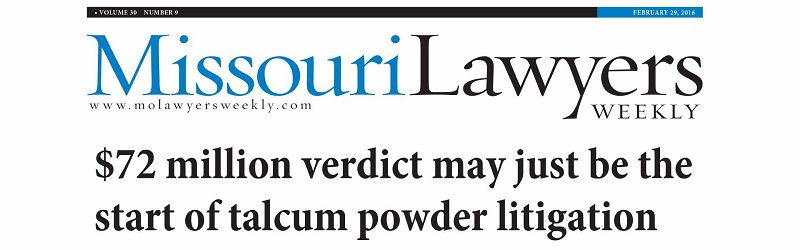 talcum powder lawsuit criteria