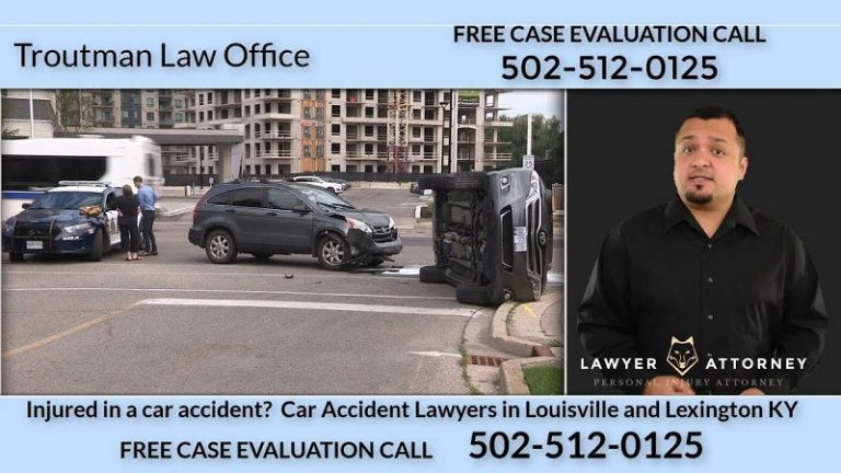 Car Accident Lawyers Lexington Ky