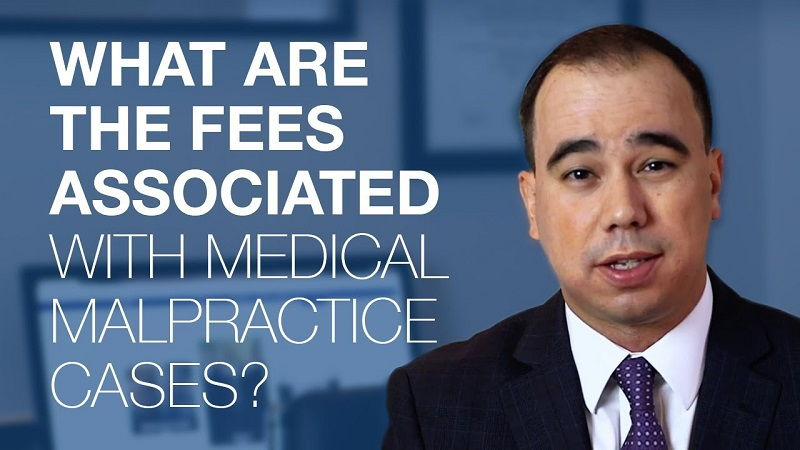 medical malpractice attorney fees california