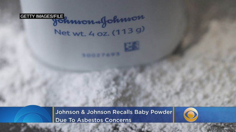 Johnson and Johnson Baby Powder Asbestos