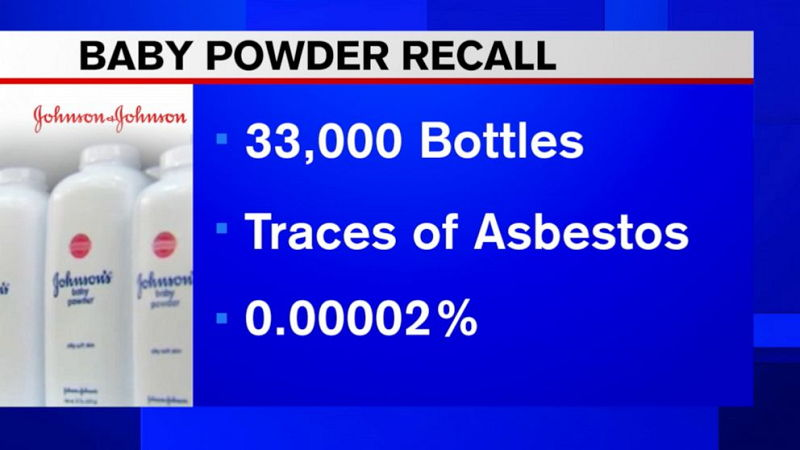 johnson and johnson baby powder asbestos lawsuit