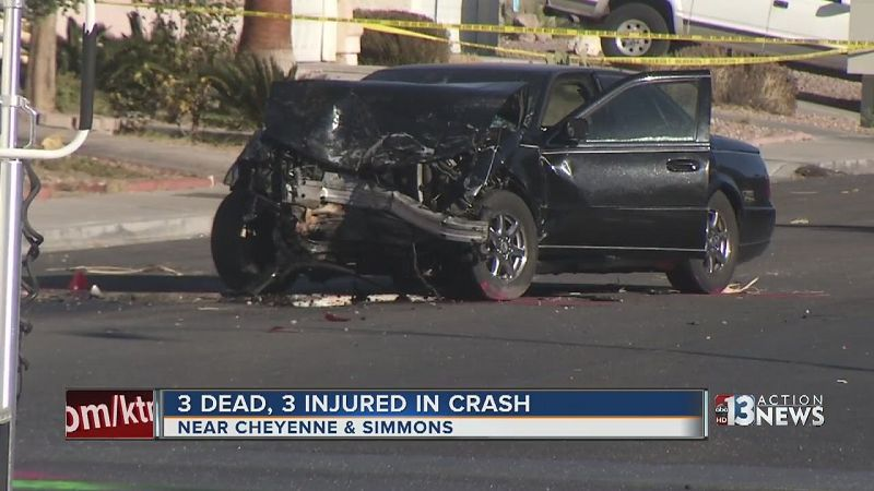 Las Vegas Car Accident Reports Today