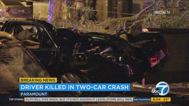 fatal car accident in california recently