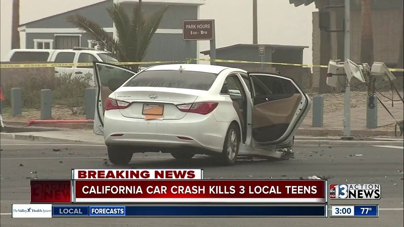 fatal car accident las vegas today