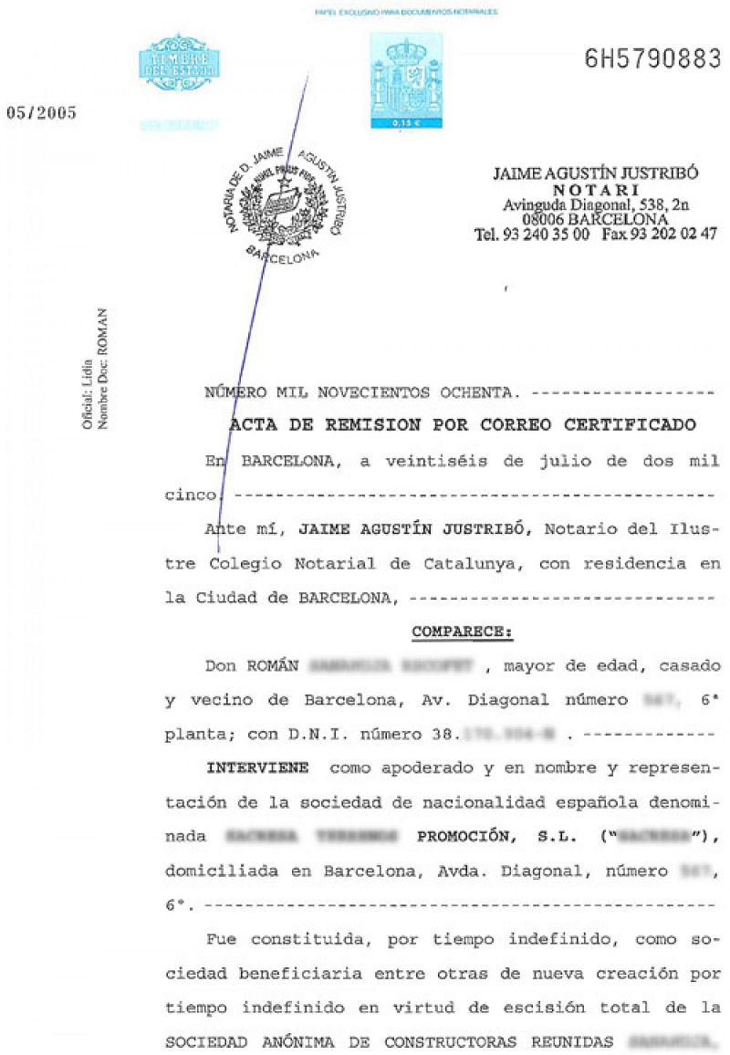 Power of Attorney in Spanish Form