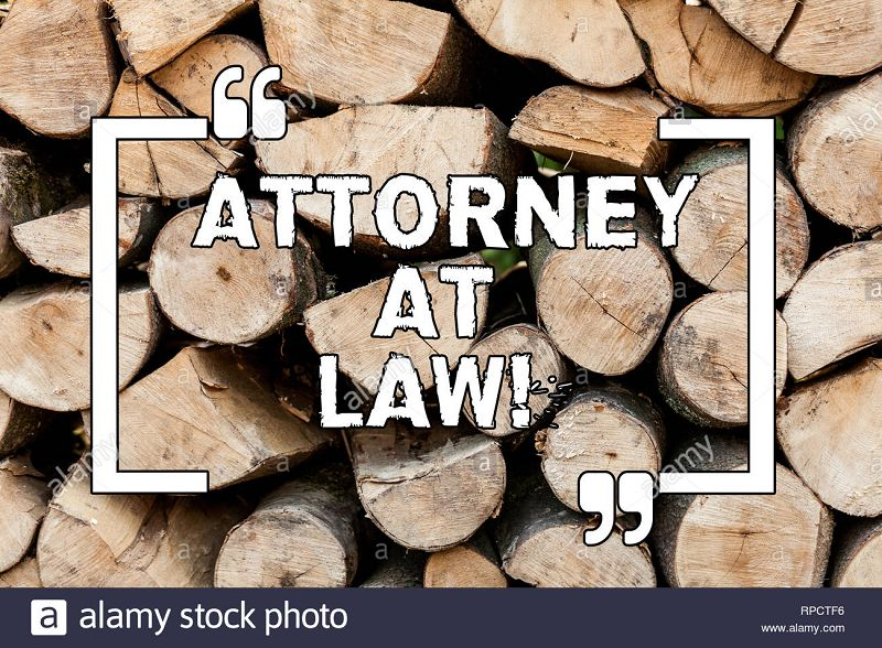 meaning of attorney at law