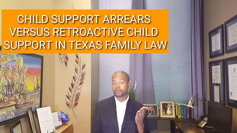 Texas Child Support Laws
