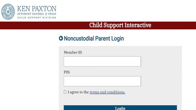 TX Child Support Number