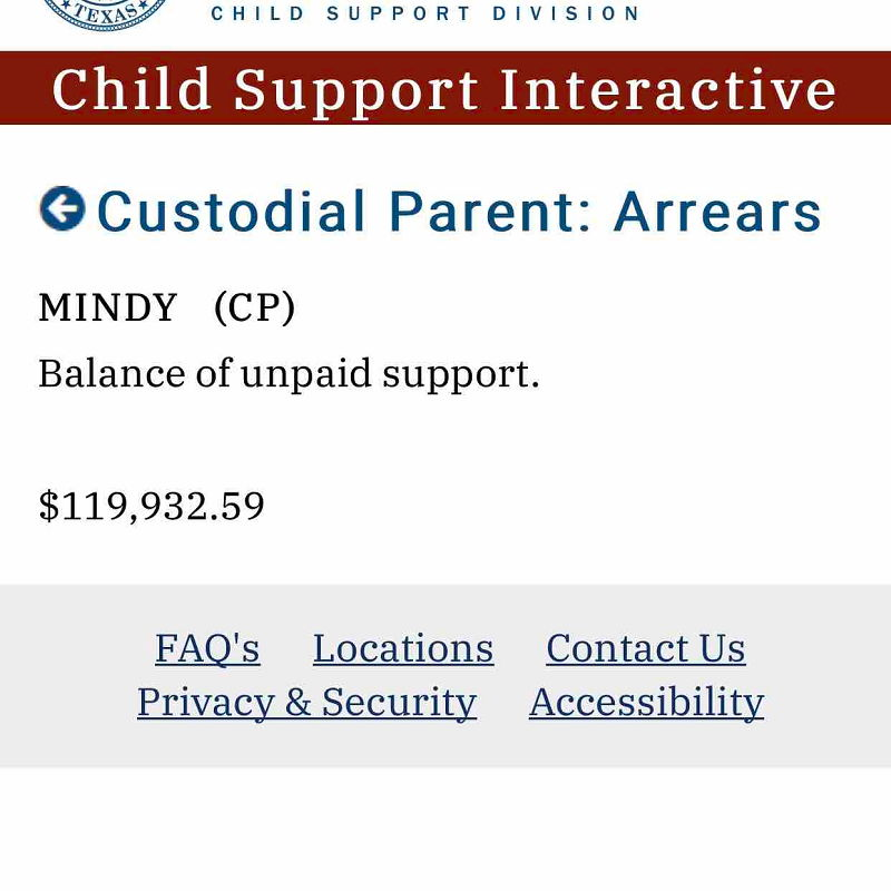 Texas Child Support Interactive