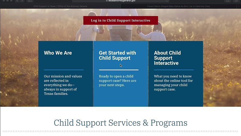 Child Support Texas Interactive