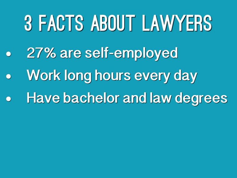 3 Fun Facts About Lawyers