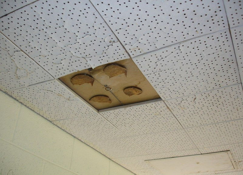 How to Identify Asbestos Ceiling Tile