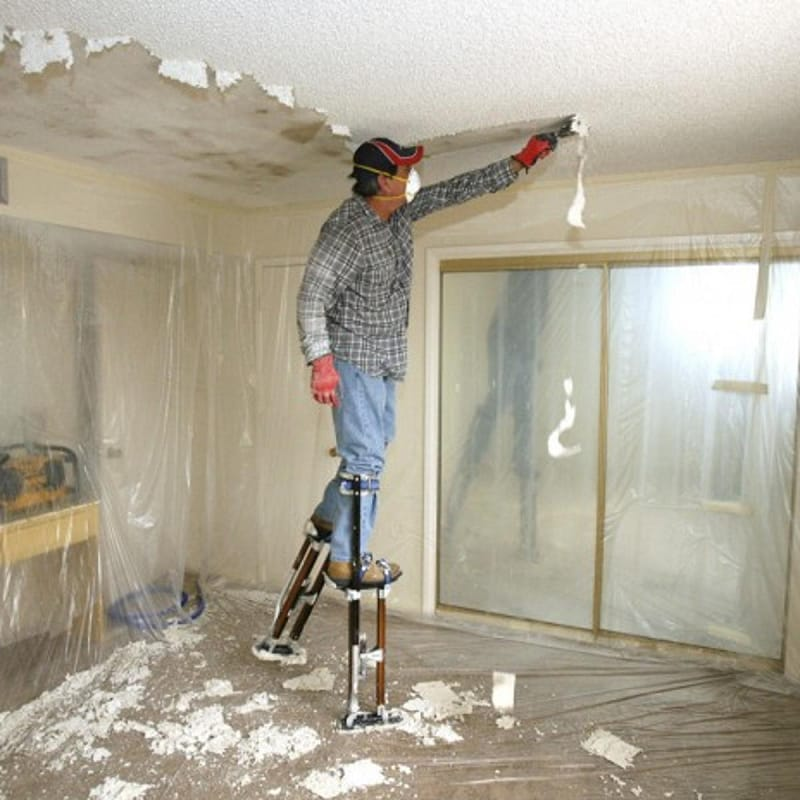 Asbestos Removal Cost Popcorn Ceiling