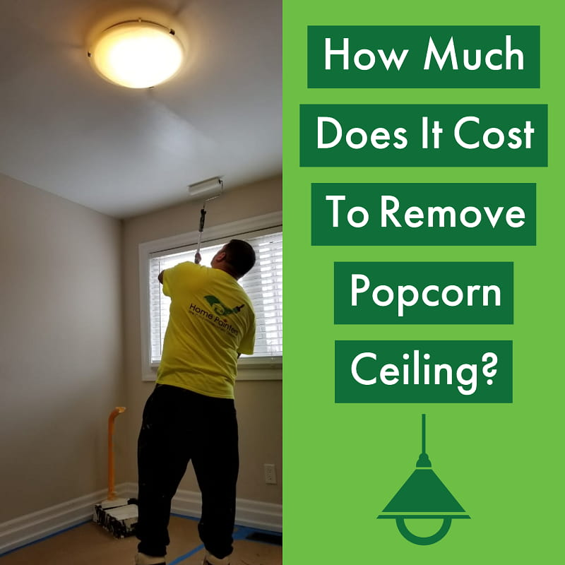 Cost of Asbestos Popcorn Ceiling Removal
