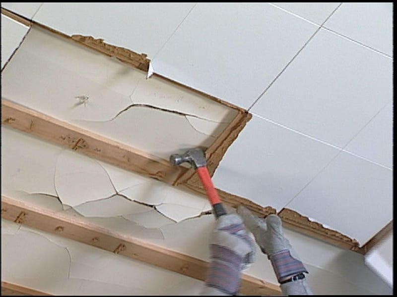 Cost to Remove Asbestos Ceiling Tiles