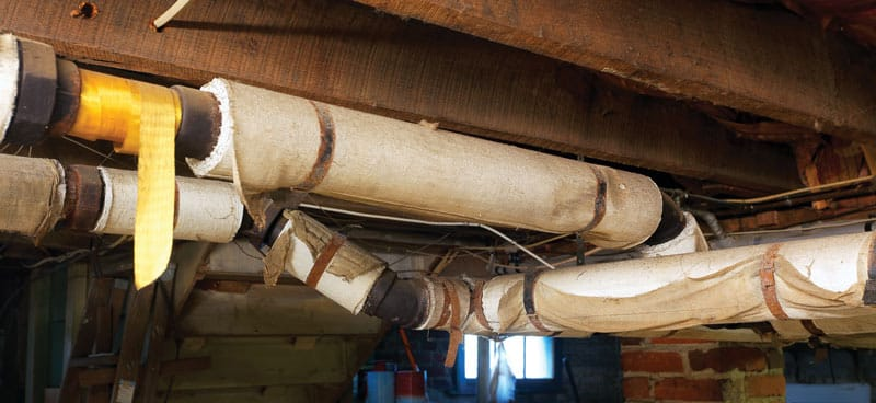Cost to Remove Asbestos Pipe Insulation