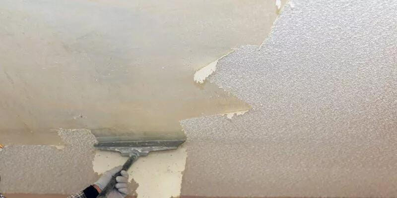 Cost to Remove Asbestos Popcorn Ceiling