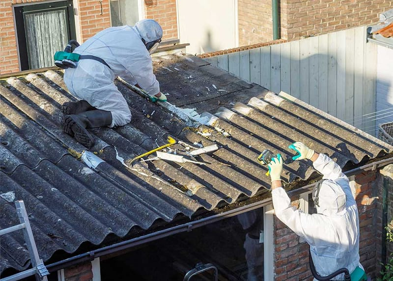 Cost to Remove Asbestos Roof Shingles