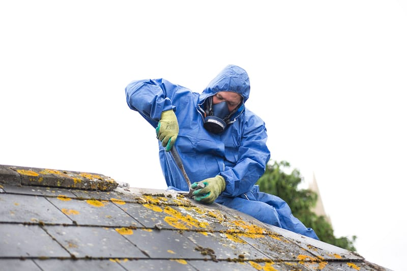 How to Identify Asbestos Roof Shingles