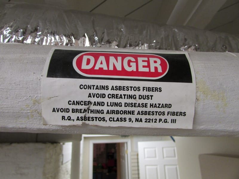 Asbestos Pipe Insulation Years Used