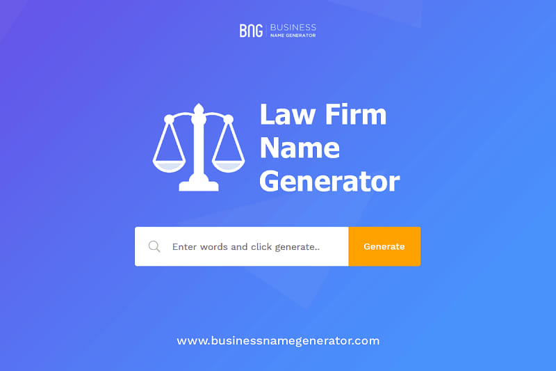 Lawyer Firm Names
