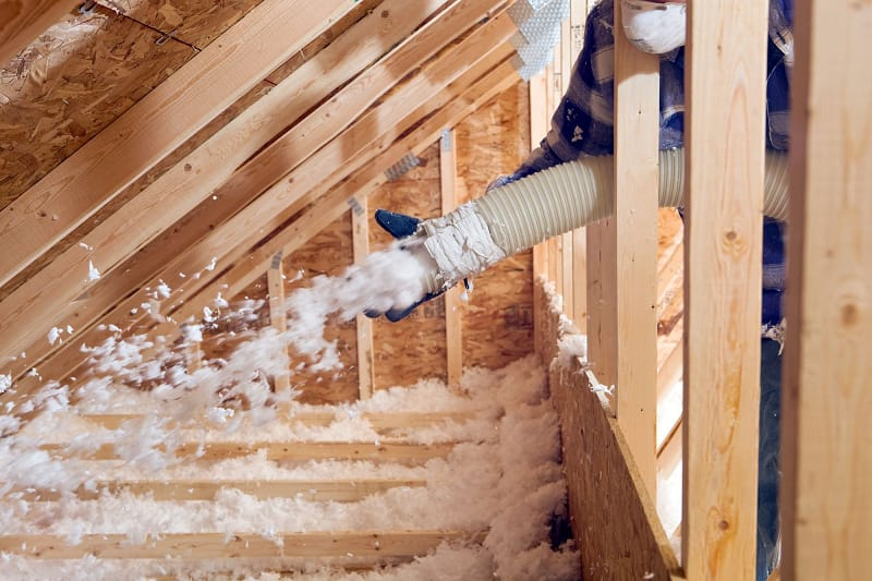 What Does Asbestos Insulation Look Like Attic
