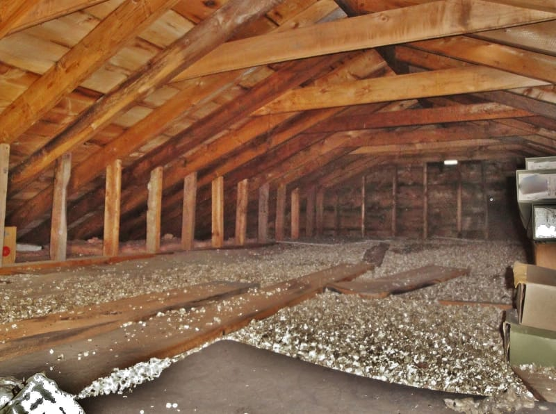 What Does Asbestos Look Like in Insulation