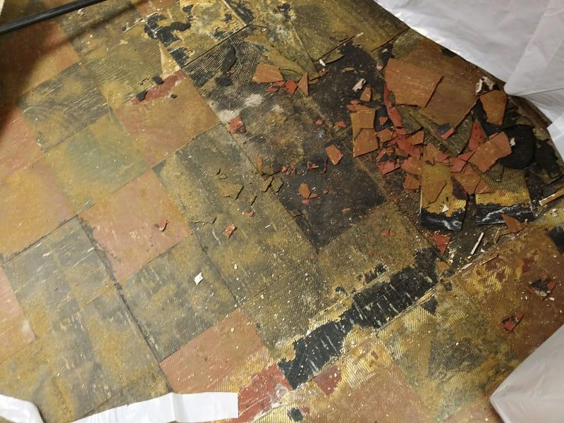 Asbestos Tile Pictures