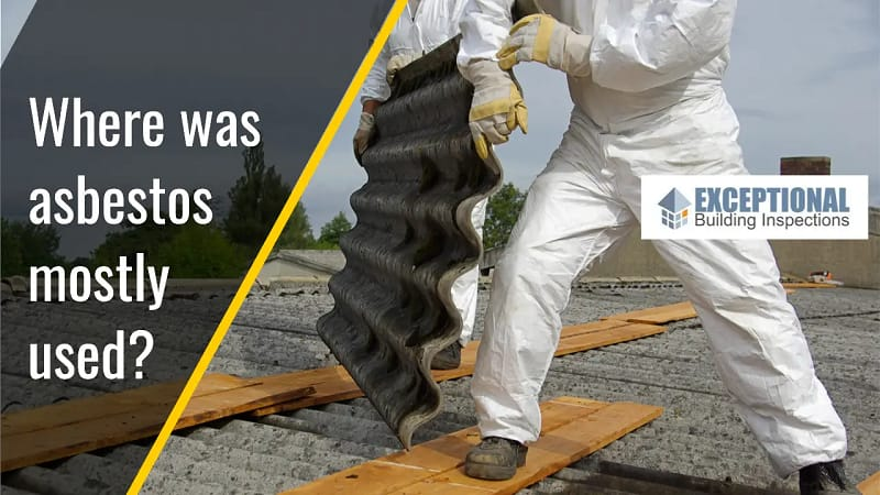Most Common Asbestos in Building Products