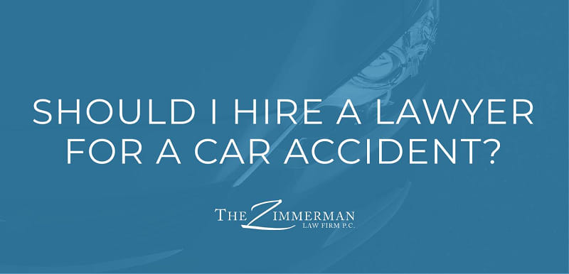 Should I Hire a Lawyer After Car Accident